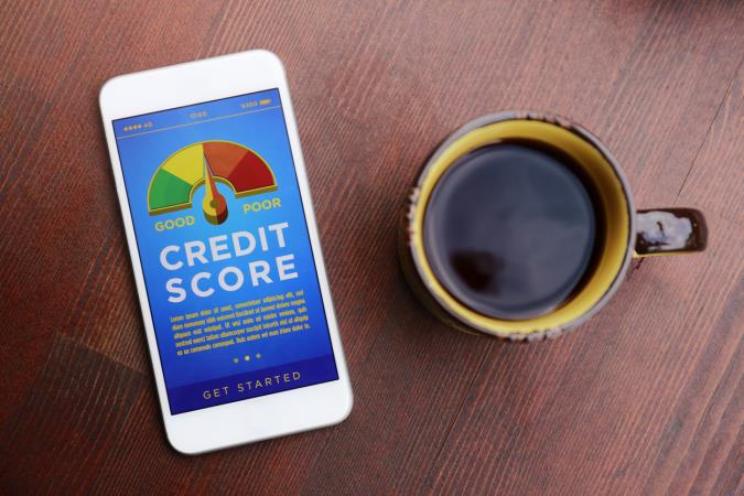 How does your credit score compare to the UK average?