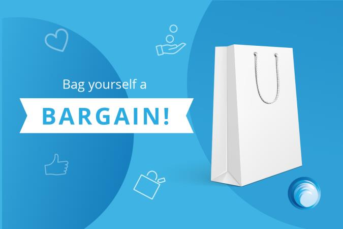Bag a Bargain - Win a £25 Amazon voucher!
