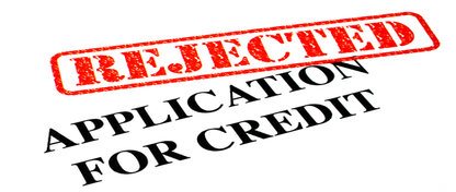 I've been refused credit – what should I do?