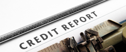 Lenders check your credit history
