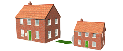 5 top tips when downsizing