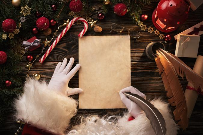 Last chance: Get a letter from Santa for the cost of a stamp