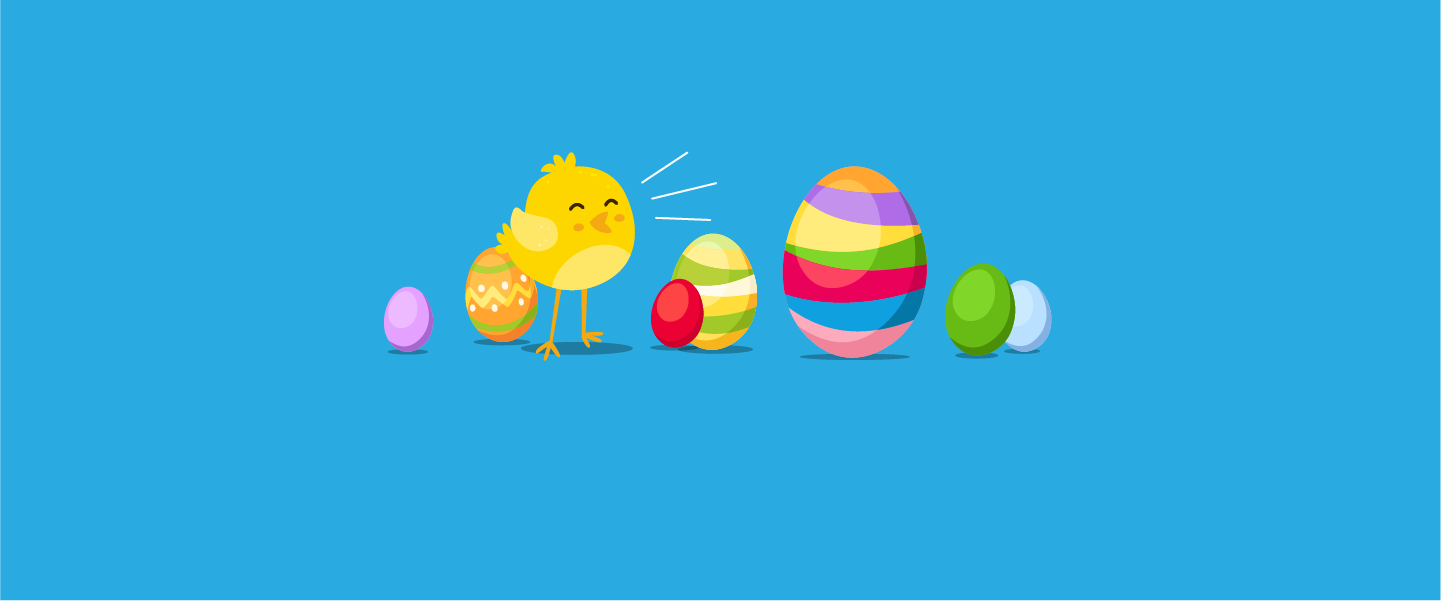 Can you find the hidden Easter eggs on our website?