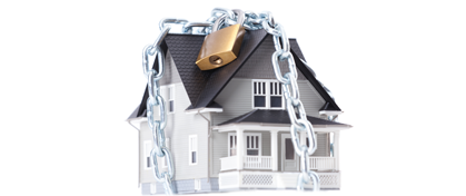 An alarm can help secure your home