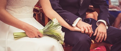 The average Brit spends £8,000 on wedding celebrations